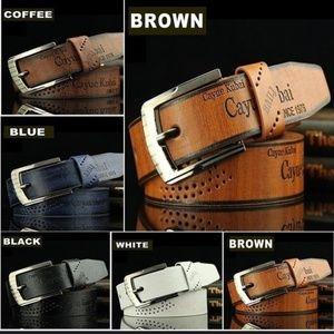 Lot of 3 men's belts
